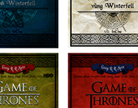 """Game of thrones"" cover design competition"