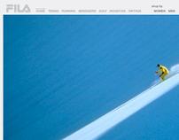 Fila Brand Website