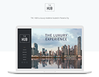 THE HUB Landing Page