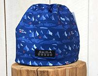 Custom Fabric Design for Run the Alps.