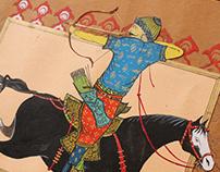 Sipahi Miniature Painting