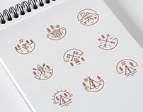 CAMP - icon concept