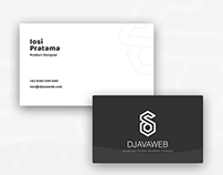 Product Designer Name Card