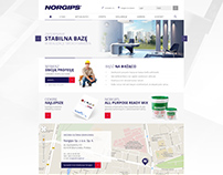 norgips.pl - website redesign