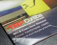 Projeto gráfico e diagramação - TEDxCuritiba