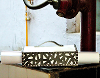 Cutwork and Metalwork.  Bags for work