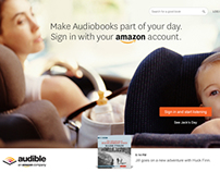 Audible's Acquisition SIte