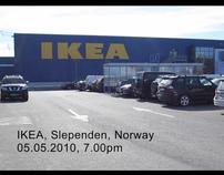 Stunt at IKEA
