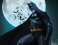 Digital Painting - Batman