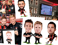 Caricatures for AFC Bournemouth