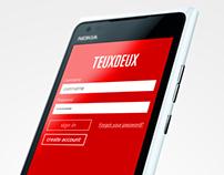 TEUXDEUX - WIndows Phone Concept App