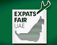 Logo - Identity proposals of the Expats Fair UAE
