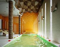 The bathroom-spa - 3D Interior -