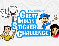 Great Indian Sticker Challenge