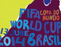 Brand Identity for 2014 FIFA World CUp