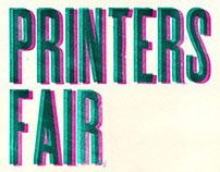 Printers Fair 2011 Poster