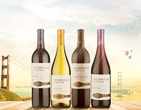 Seleção de vinhos Redwood Creek