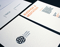 London Buddhist Centre—Logo and Stationary Set