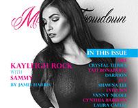 Cover for Model Throwdown magazine