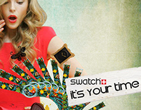 Swatch Watch Campaign