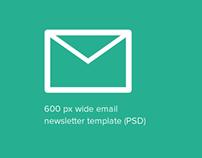 Newsletter Design Template in HTML