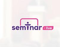 Semiar Live Logo Design