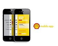 Shell UI/UX design