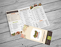 ABOCA'S ITALIAN GRILL PRINT PRODUCTS