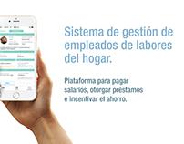 Sitema de gestión de empleados (App)