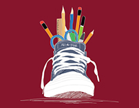 CONVERSE BACK TO SCHOOL POSTER