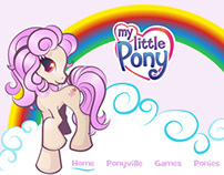My Little Pony Mock Website