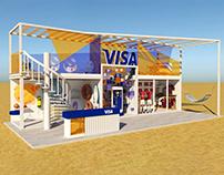 Visa Booth