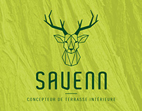 Savenn - Logo and visit card
