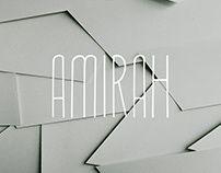 Amirah - Free Display Font