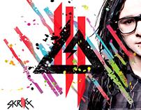 Skrillex CD Design