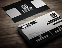 Grainy Grunge Business Card