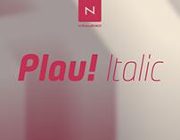 Plau Italics