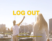 LOG OUT. motion graphics