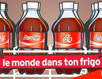 Coca-Cola - Le monde est petit - TV - Affichage