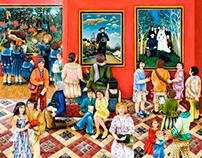 L'exposition d'Henri Rousseau