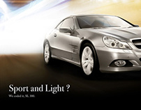 Initiative Ads for Mercedez