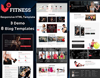 Fitness - Multipurpose Responsive HTML Template