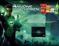 Green Lantern Flash Banners