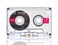 "Maxell _cassette_ ""Classics never die"""