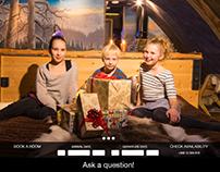 Lapland Igloos landing page
