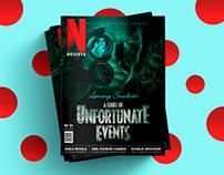 Revista Netflix | Design Editorial