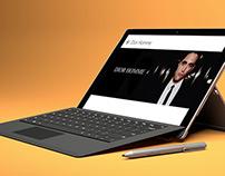 Dior Homme Intense · Windows 8 AdPano