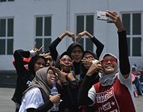 Photojournalism - Milennials in Jakarta Old Town