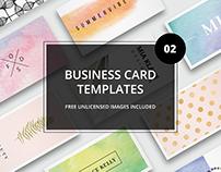 Business card bundle 02 + images