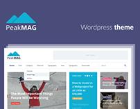 PeakMAG wordpress theme